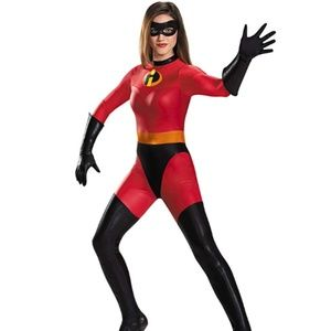 Disney Other - NEW Disguise Mrs. Incredible Bodysuit Costume S